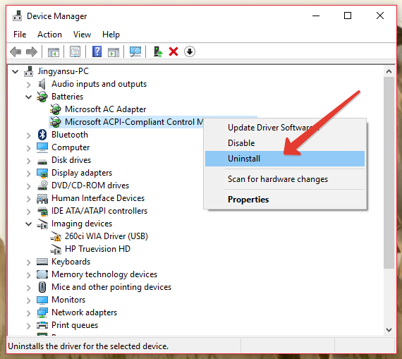FIXED] Battery Plugged in, Not Charging in Windows 10