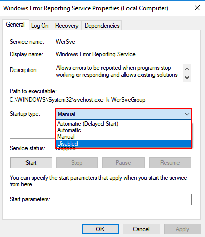 How to Fix WerFault exe Error in Windows 10 - WindowsFish