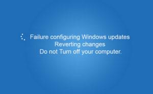 """Fix """"Failure Configuring Windows Updates"""" Error"""