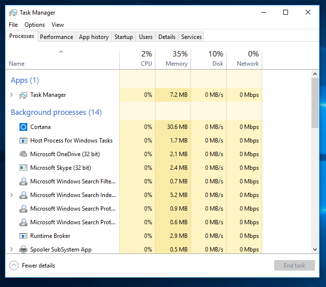 Fix Task Manager Not Responding in Windows 10, 8, 7 - WindowsFish