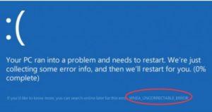 [FIXED] WHEA_UNCORRECTABLE_ERROR in Windows 10, 8, 7