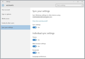 How do I Sync Settings in Windows 10? [GUIDE]