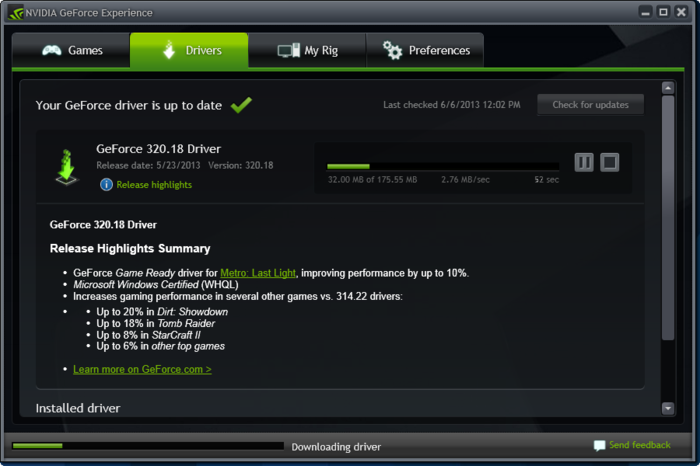 nvidia geforce experience cannot connect
