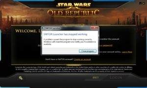 [FIXED] SWTOR Won't Launch/Open/Load Error