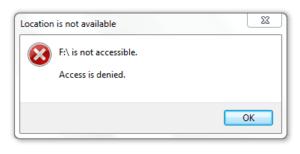 "Fix ""Folder Access Denied"" Error on Windows 10"