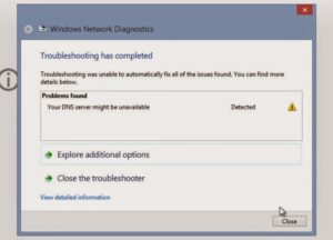 [FIXED] Your DNS Server Might be Unavailable Error