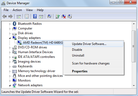 right-click-on-AMD-Radeon-graphic-card-and-select-Update-Driver-Software