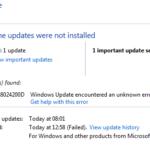 How to Fix 0x8024200D Windows Update Error