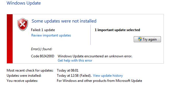 How to Fix 0x8024200D Windows Update Error - WindowsFish