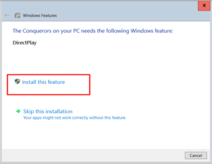How to Enable DirectPlay in Windows 10 [Easy Guide]