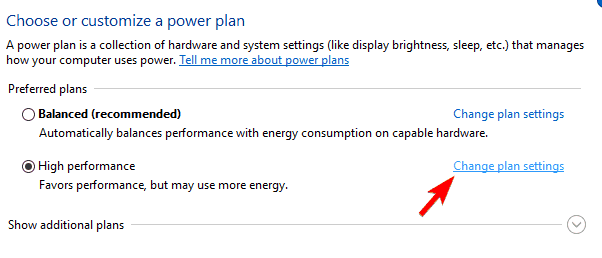 Power option usb ports not working in windows 10