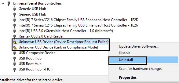 uninstall corrupted drivers expool error