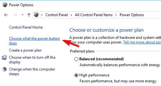 what power button does usb ports not workin in windows 10