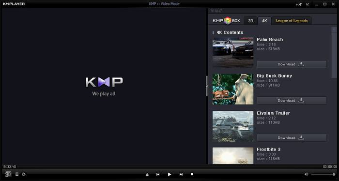 KMPlayer - Best Video Players for Windows 10