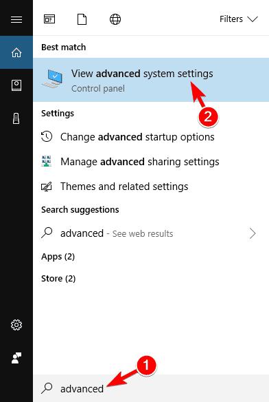 advanced system setting alt tab not working in windows