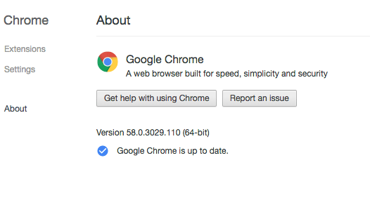 About Chrome Update Chrome err_spdy_protocol_error