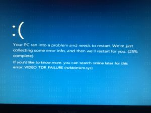 Fix Nvlddmkm.sys Error on Windows 7, 8, 10 [Video_Tdr_Failure]