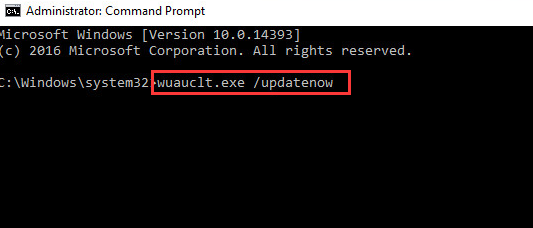 command prompt update windows 10 setting not opening