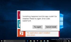 "5 Ways to Fix ""0x80073cf9"" Windows 10 Store Error"
