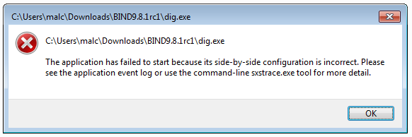 Fix Side by Side configuration is Incorrect Error in Windows 10