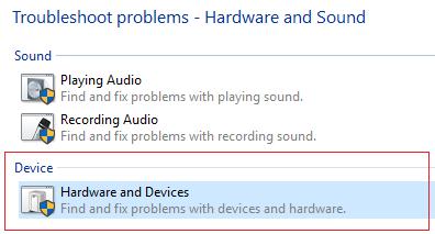 Keyboard not working: procedure