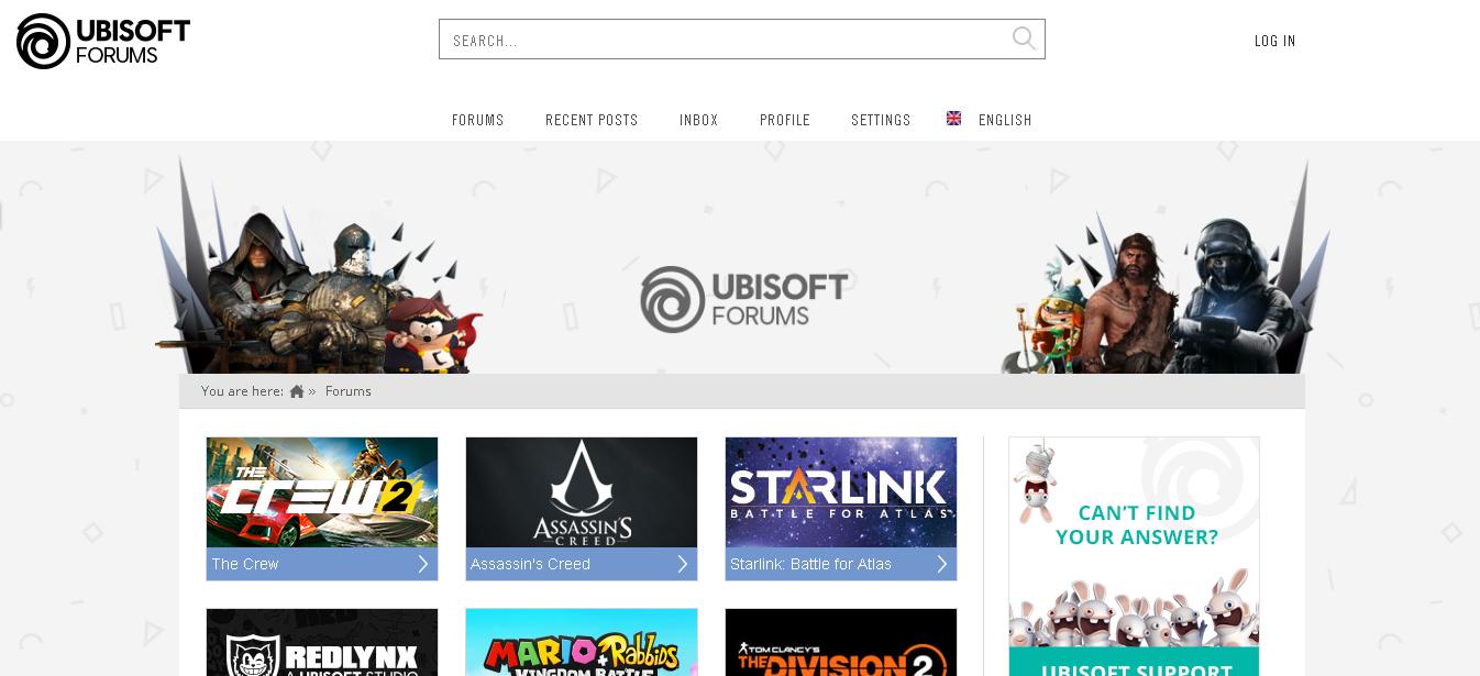 Ubisoft: Best gaming forums
