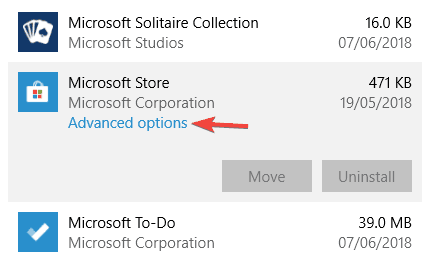 Windows Store Cache may be damaged issue