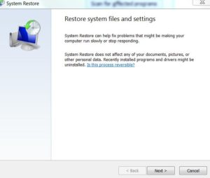 How to do a System Restore on Windows 10, 8, 7