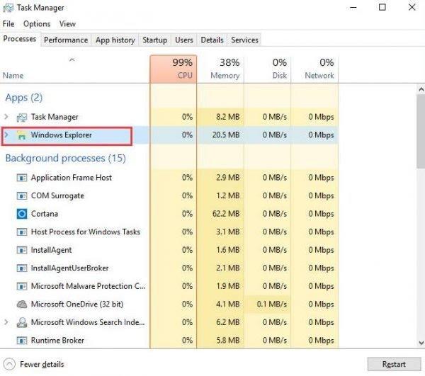 FIXED] File Explorer Not Responding in Windows 10 - WindowsFish