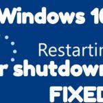 Fix Windows 10 Restarts After Shutdown [4 Ways]