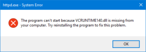 3 Ways to Fix VCRUNTIME140.dll Missing Error