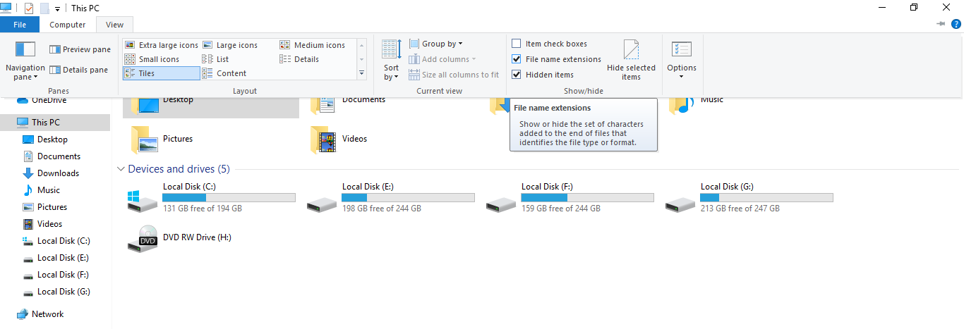 windows menu not working solution