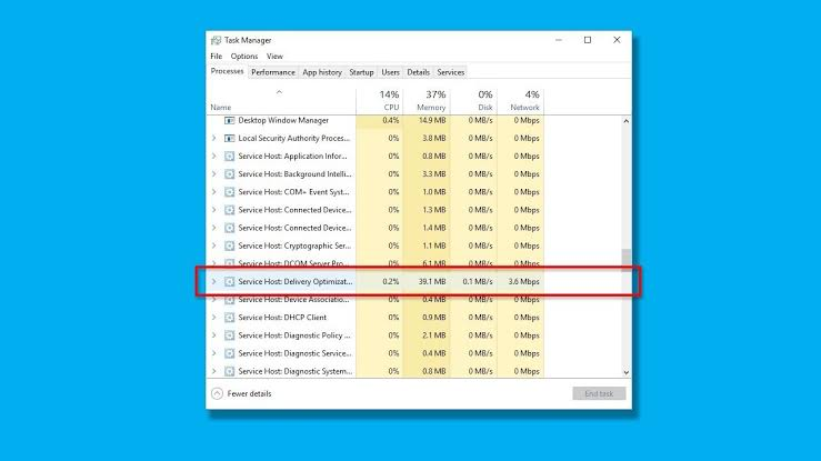Fix for High Disk (or) CPU Usage Problem in Windows 10