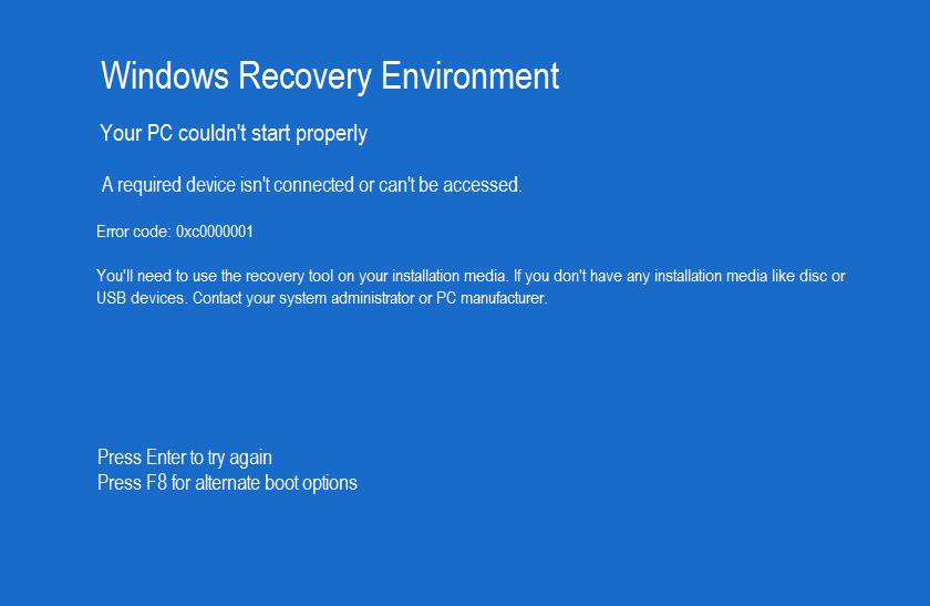 How To Fix Error Code 0xc0000001 On Windows