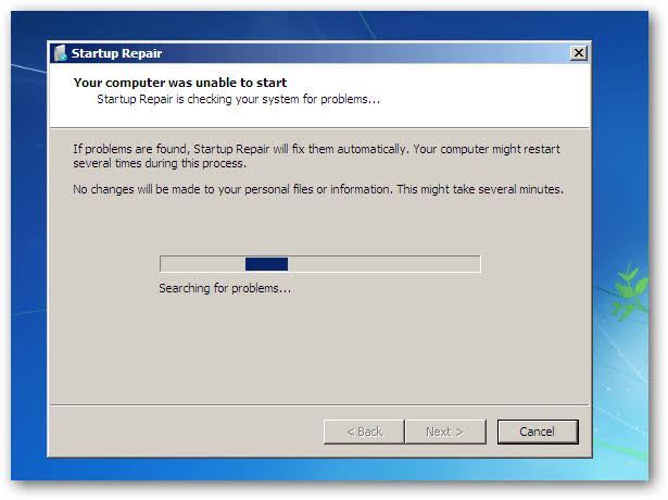 Fixing Invalid Partition Table on windows