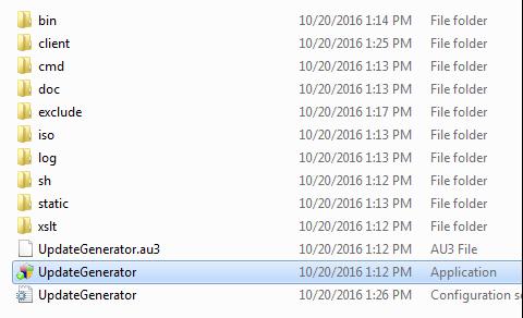 update generator